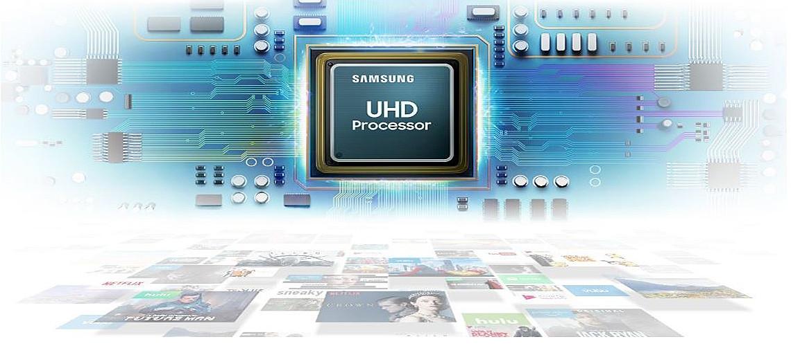 UHD procesor slika