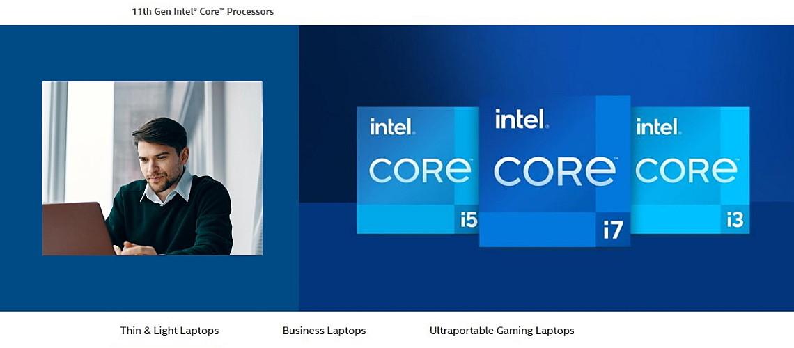 Intel 11th Generation slika
