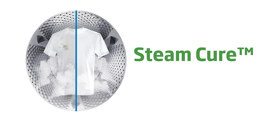 Beko SteamCure™ tehnologija - tretiranje mrlja parom slika