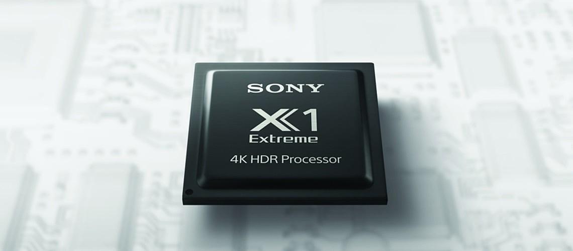 SONY 4K HDR X1 Procesori slika