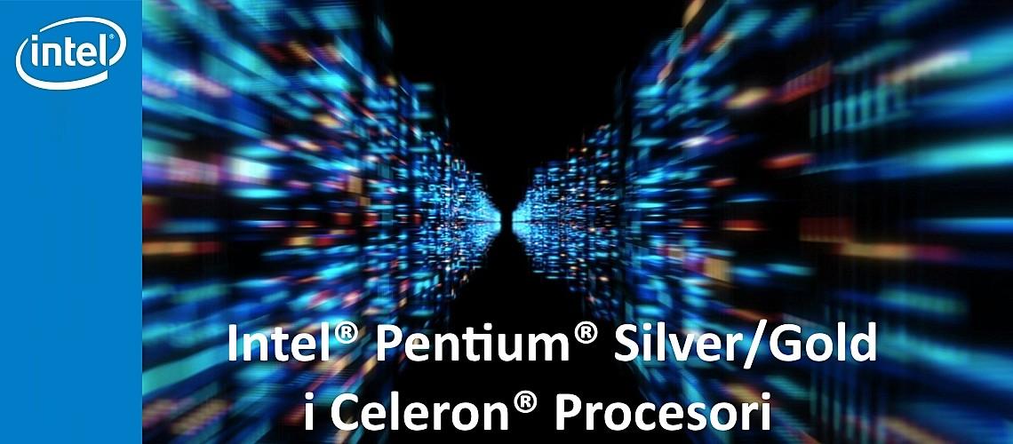 Intel Pentium Silver-Gold i Celeron Procesor slika