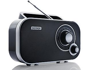 DENVER PRIJENOSNI RADIO TR-54 CRNI