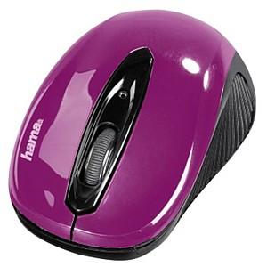 Bežićno optički miš AM 7300,ljubičasta