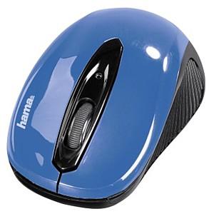 Bežićno optički miš AM7300,plava