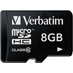 Memorijska kartica Micro SDHC; 8GB; Cl10