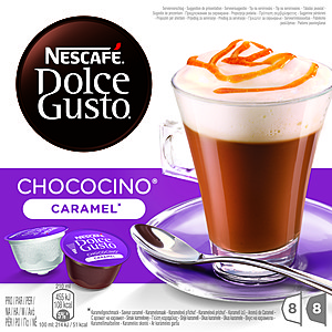 CAFFE DG CHOCOCINO CARAMEL 204,8 G
