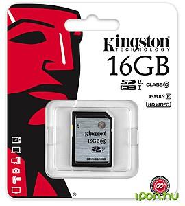 Memorijska kartica SD 16GB; Class10