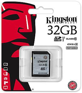 Memorijska kartica SD 32GB; Class10