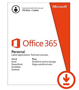 Office 365 Personal 32/64; 1kor; 1god