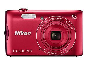 Fotoaparat, crveni