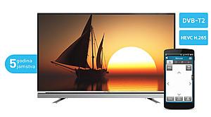 108cm,Full HD,600Hz,DVB-T2,HEVC H.265