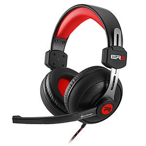 Slušalice; Mikrofon; Crno/Crvene