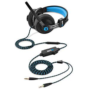 Slušalice; Mikrofon; Crno/Plave
