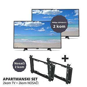 LED TV 80cm, HD Ready , DVB-T2 H.265