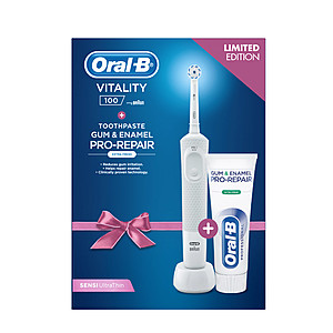 ORAL-B D100 WHITE+ORALB PRO 75ML