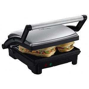 RUSSELL HOBBS PANINI GRILL and GRIDDLE