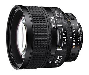 Profesionalni objektiv, 85mm, F1.4D