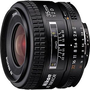Objektiv, 35mm, F2D