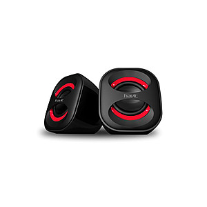 Zvučnici za PC, crveni