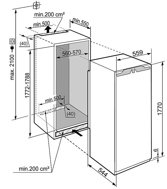 liebherr ikbp 3554 premium. Black Bedroom Furniture Sets. Home Design Ideas