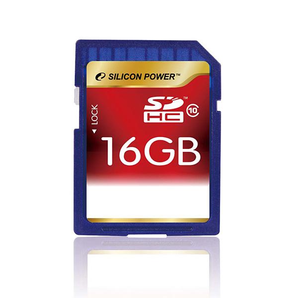 Silicon Power SDHC 16GB Class10